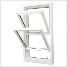 double hung tilt window