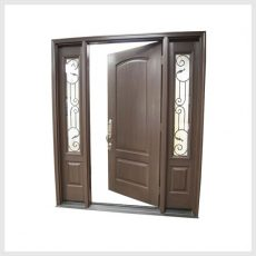 in swing door