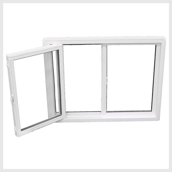 single slider tilt window